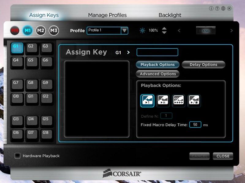 Corsair Raptor K30 and K50 Gaming Keyboards 47