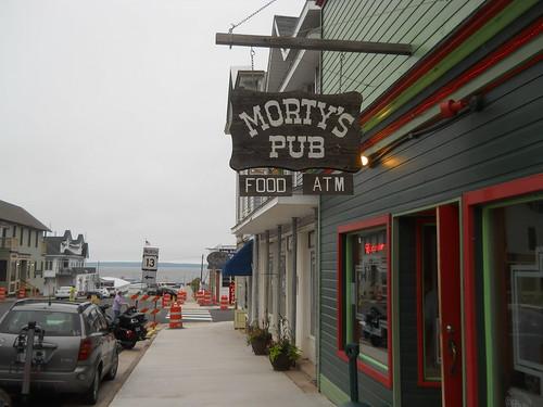 Morty's Pub, Bayfield, Wisconsin