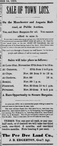 Lone Star Land Sale