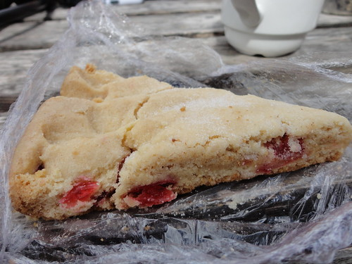 Cherry shortbread by South Downs MTB Skills