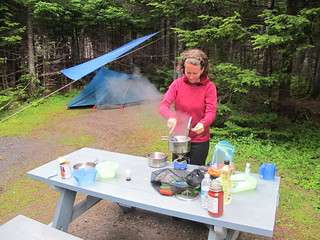 Berry Hill Campground Cooking
