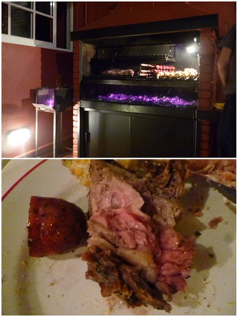 Not very tasty asado from Buenos Aires hotel