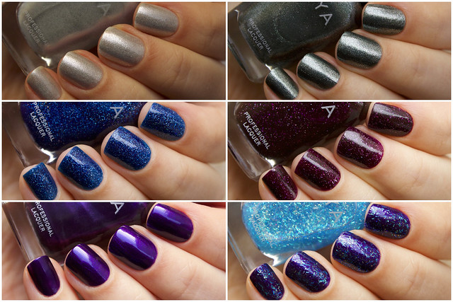 Zoya Zenith Collection swatches
