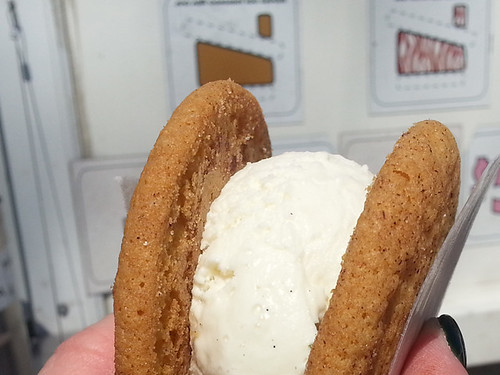 Bushmill's Irish Honey Ice Cream at Coolhaus Austin