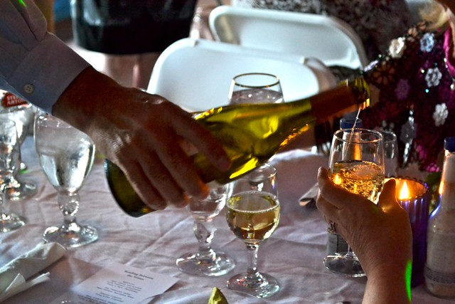 chardonnay, wine dinner, turning pages wine dinner, greater columbia literacy council, five course wine dinner