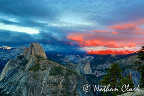 Half Dome at Sunset 2