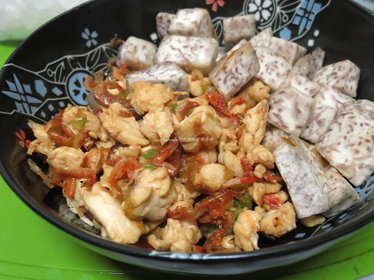 櫻花蝦芋頭飯 (2)