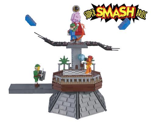 Super Smash Bros. Peach's Castle