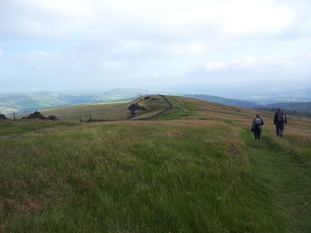 Approaching Windgather Rocks