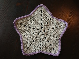 Star dishcloth