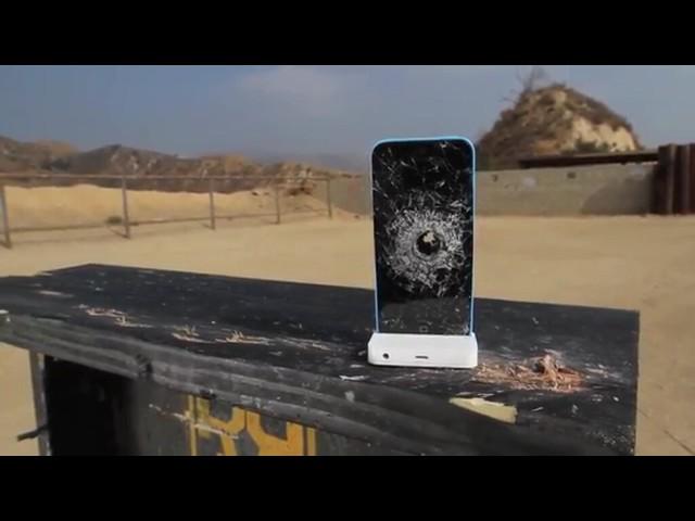 Из расстрела iPhone 5C получился отличный тест камер на съемку видео slo-mo