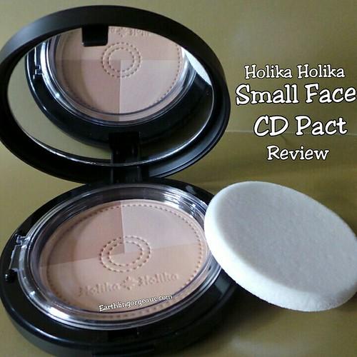 Holika Holika Small CD Face Pact review