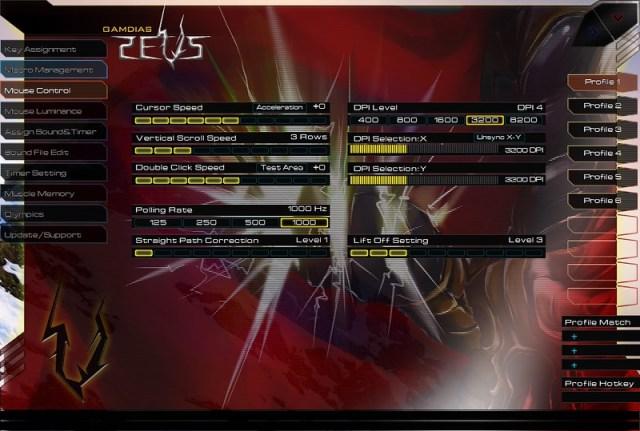 GAMDIAS ZEUS Esport Edition Laser Gaming Mouse 65