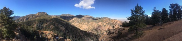 Picture from the Mt. Cutler Trail