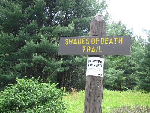 Shades of Death trailhead