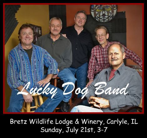 Lucky Dog Band 7-21-13