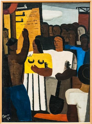 Edouard Pignon, Le Meeting, Lille, France, Le Palais Des Beaux Arts