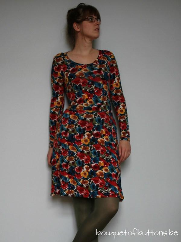 dress renfrew sewaholic jurk