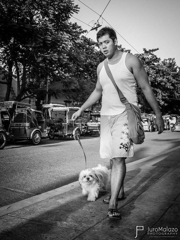 Out for a Walk. (Out on the Streets: Street Photography by Juro Malazo)