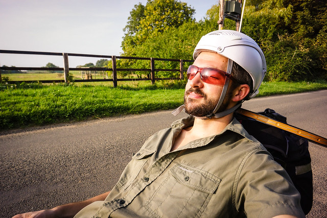 Laid-back bicycle touring
