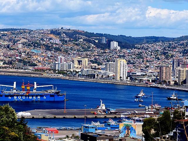 Desde Playa Ancha (Valparaiso, Chile)