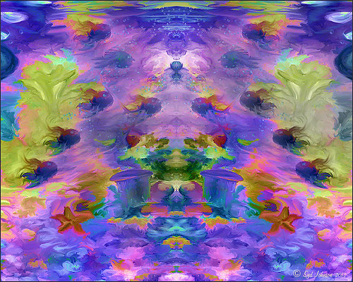 Image of painted fish using Symmetry file