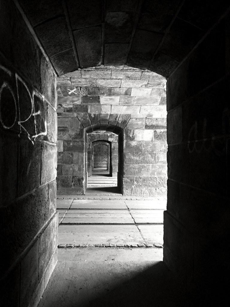 Across the Tunnels B&W
