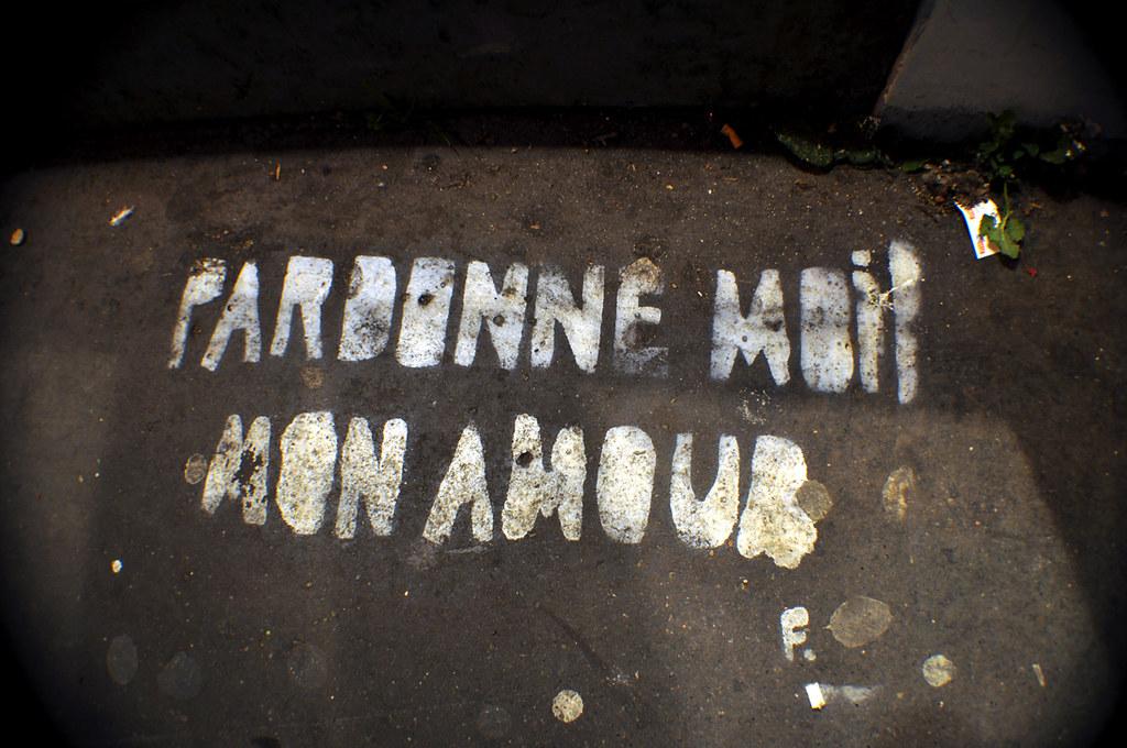 PARDONNE MOI MON AMOUR F.