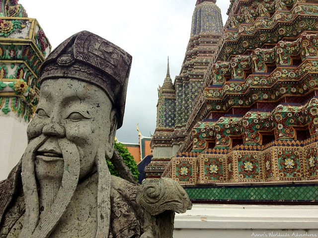 Artwork at Wat Pho