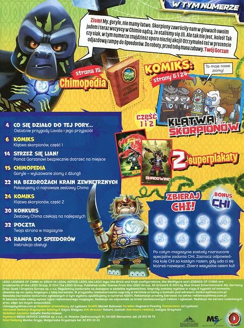 LEGO Legends of Chima Oficjalny Magazyn 2014-02 02