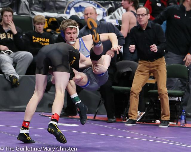 145 - Mitch Rothfork (Foley) over Wyatt Guck (Perham) Dec 9-3