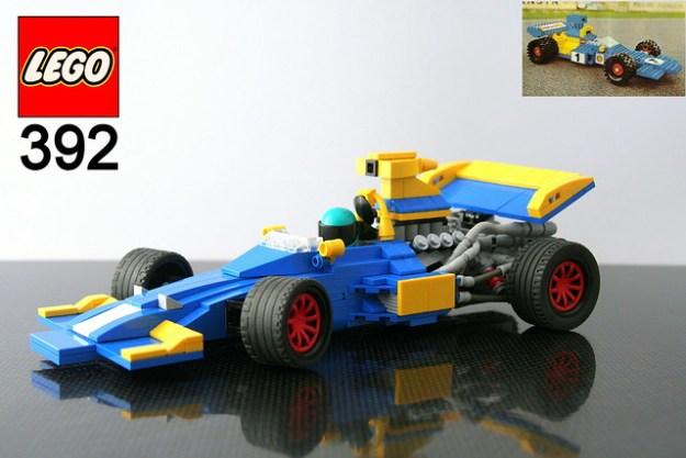 LEGO 392 Formula 1 redux - box art