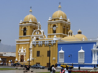The Cathedral at Plaza de Armas, Trujil