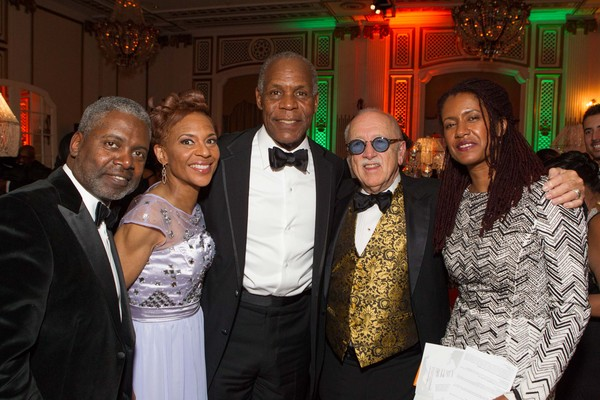Tommie Moon, Renel Brooks-Moon, Danny Glover, Wilkes Bashford and Elaine Cavalleiro
