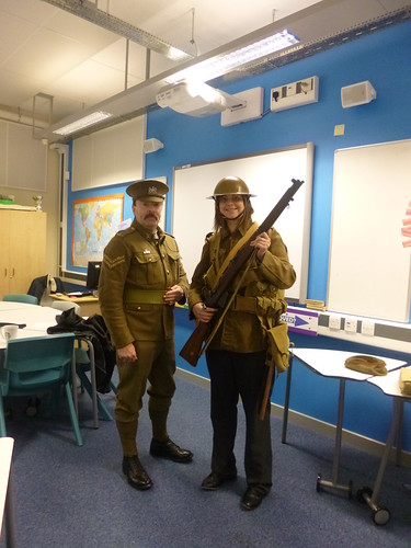 World War 1 soldier experience, your history teacher needs you.