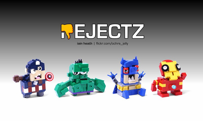 REJECTZ Series 1 - Superheroes