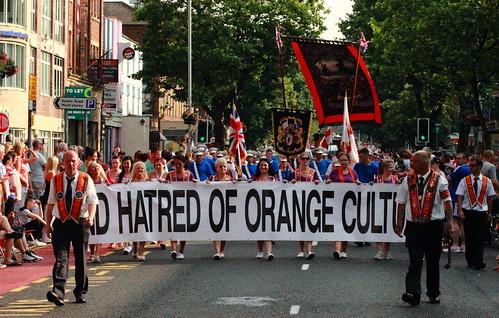Hatred Of Orange Cult