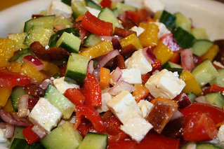Mediterranean Pepper Salad