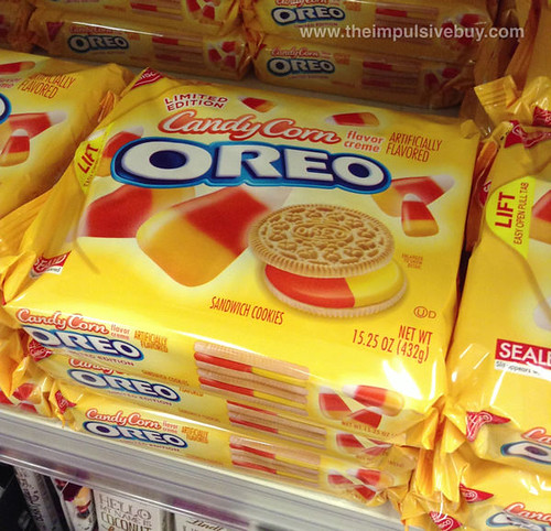 Limited Edition Candy Corn Oreo again
