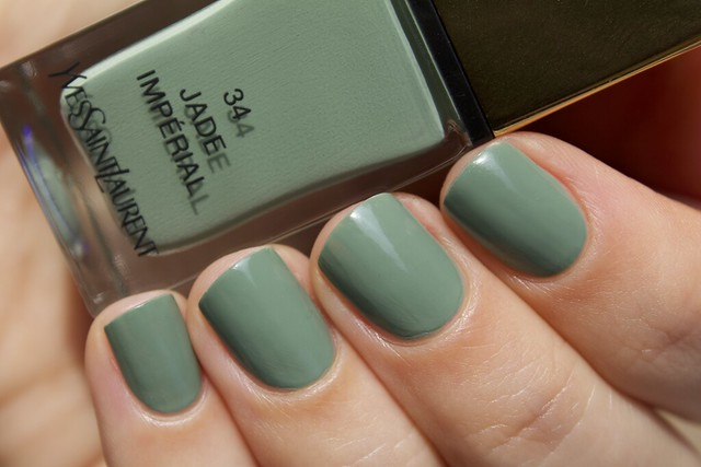 04 YSL Jade Imperial swatches