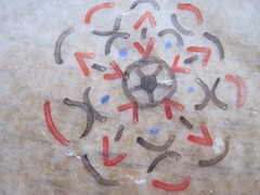 Wax Paper Mandala Ex 7