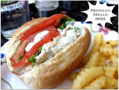 Cesear Salad Sandwiches2