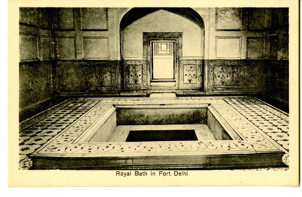 Royal Bath in Fort Delhi