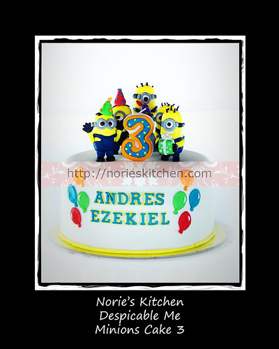 Norie's Kitchen - Despicable Me - Minions Cake 3 by Norie's Kitchen