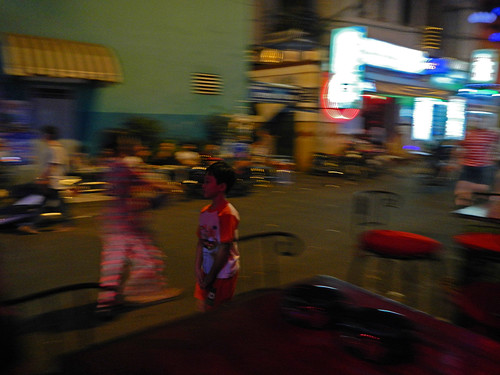 Saigon Night Action in District 1