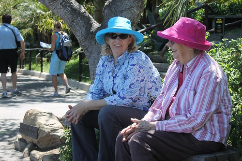 Stacy and Shirley on the occasion of Shirley's birthday