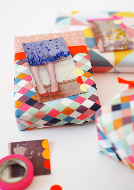 DIY: Gift Tags From Magazine Pages
