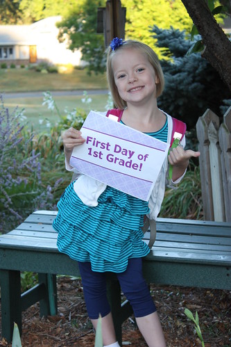 First Day of School - 1st Grade!