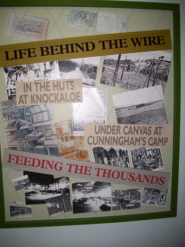 World War One display at The Manx Museum, Douglas, Isle of Man