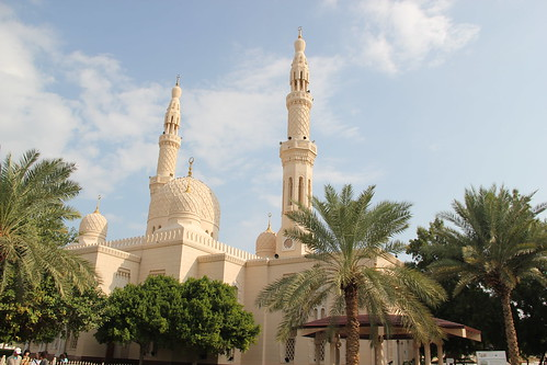 Visit to Jumeriah Mosque, Dubai